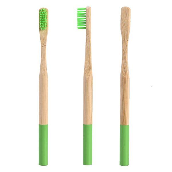 Brosse dents en bois bambou voyage brosse dents en bois poign e en bambou brosse dents 4