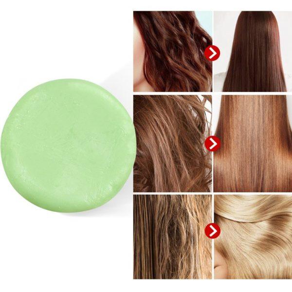 Hairinque cheveux bio th vert conditionneur Bar fait main vitamine C hydratant nourrissant cheveux revitalisant savon 1