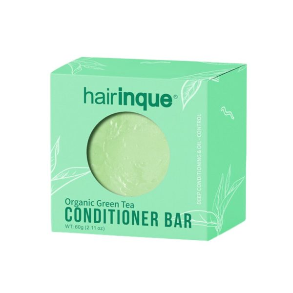 Hairinque cheveux bio th vert conditionneur Bar fait main vitamine C hydratant nourrissant cheveux revitalisant savon 3