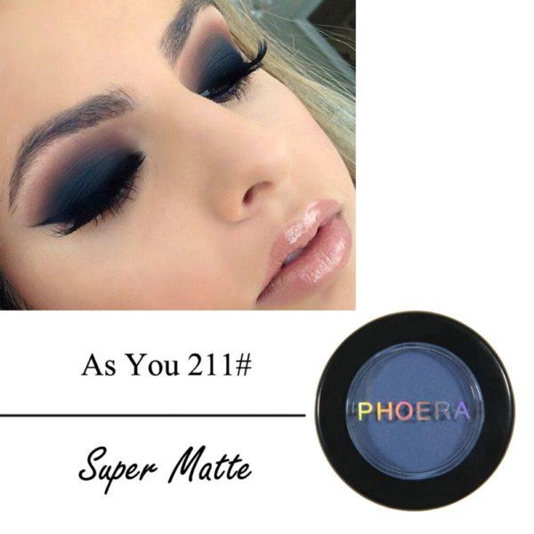 Mode maquillage ombre paupi res imperm able l eau mat Pigment Palette doux paillettes miroitant couleurs 3