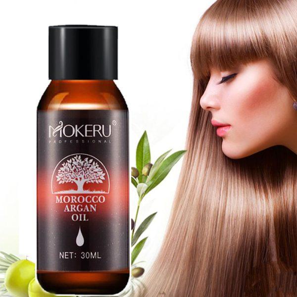 Mokeru 100 naturel bio 30ml maroc huile d argan soin des cheveux cuir chevelu huile essentielle