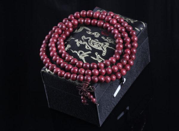 Tib tain bouddhiste pri re perles d cor cha ne hommes Bracelet poignet ornement naturel Violet 2